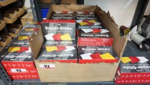 LOT - BOXES OF SUPER GLIDE TAILOR CHALK - (38) BLK, & (7) YELLOW