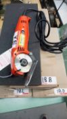 EASTMAN D2-1 CHICKADEE ROTATING CLOTH CUTTER (NEW) (110V)
