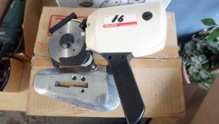 ALLSTAR AS-400 ROTARY CLOTH CUTTING KNIFE (NEW) (110V)