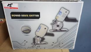 KOBE 100 ROTARY CLOTH CUTTING KNIFE (110V)