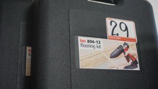 UNITS - POWER ADHESIVES TEC 806-12 HOT MELT GLUE GUNS W/ HARD CASE