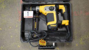 "DEWALT D25416 1 1/8"" SDS CORDED ROTARY HAMMER DRILL W/ E-CLUTCH & HARD CASE"