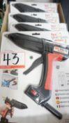 UNITS - POWER ADHESIVES TEC 820-12 HOT MELT GLUE GUNS