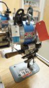 EASTMAN BLUE STREAK 2 STRAIGHT KNIFE CUTTING MACHINE, S/N 2-JS966-5 (110V)