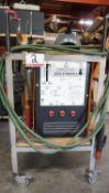 ARCWELD 225A STINGER 2 ARC WELDING POWER SOURCE STYLE JD-37, S/N 1353-0215 C/W ACCESSORIES