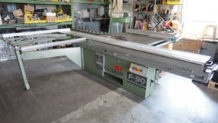 ALTENDORF F-90 SLIDING TABLE SAW (MAX 350MM SAW BLADE) (575V), S/N 89-1-213
