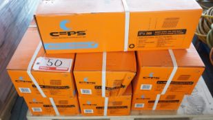 """BOXES - CFPS CCN200 2"""" X .099 BRIGHT SPIRAL COIL WIRE NAILS (300 PCS / COIL) (30 COILS / BOX)"""