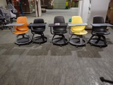 UNITS - STEELCASE NODE MOBILE CLASSROOM SEATS W/ TABLET ARM
