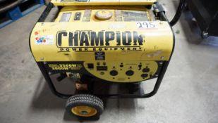 CHAMPION CSA40015 3,500W PORTABLE GENERATOR
