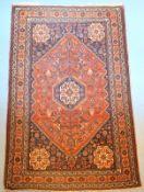 Persischer Schiraz,Wolle auf Wolle, Anilinfarben, gepflegt, 157 x 102cm.,,