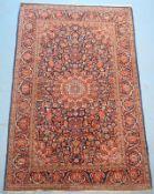 Persischer Täbris,Wolle auf Wolle, Persischer Knoten, geflegt, 205 x 136cm.,,