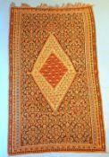 Kelim Flachgewebe Senneh / Bidjar Musterung,Iran, gepflegter Zustand, wohl Wandbehang, 196 x