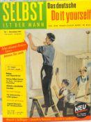 Selbst ist der Mann, Werbeschild, 1957 Reprint