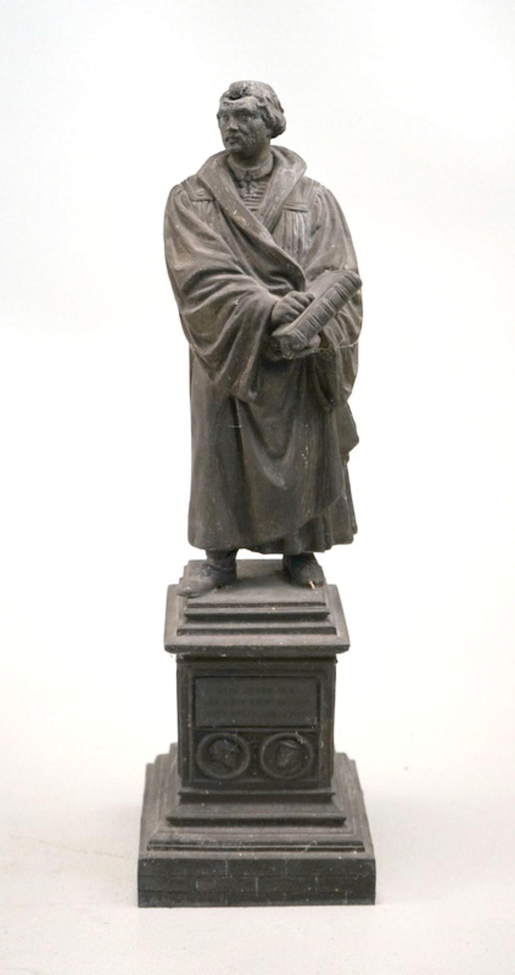 Martin Luther Skulptur nach dem Denkmal von E. Rietschel in Worms