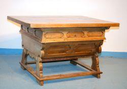 Seltener, großer Rhöntisch, datiert 1855
