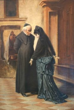 "Passini, Ludwig Johann: ""Ein ernstes Gespräch"""