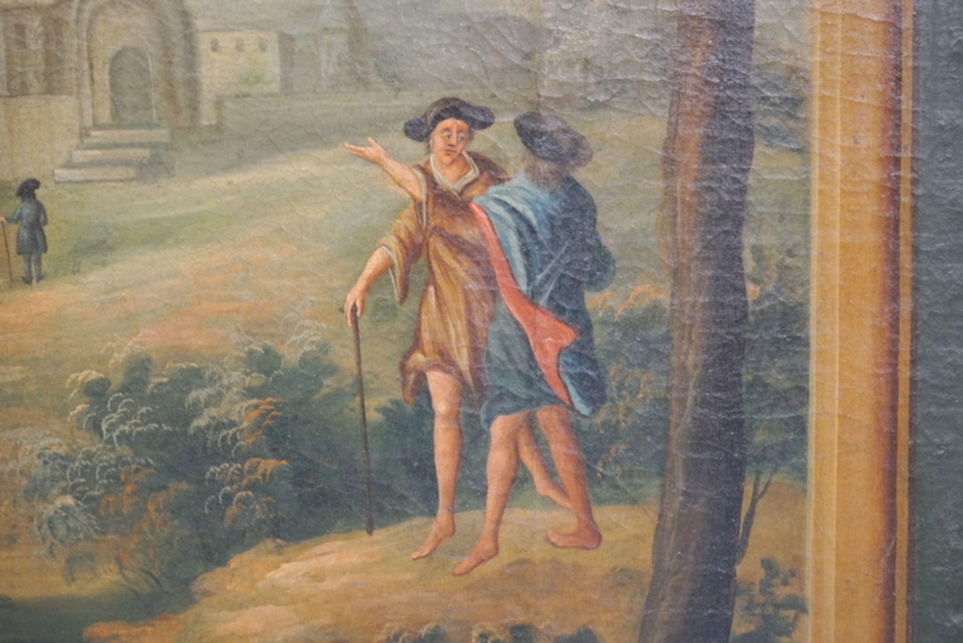 Großer Paravent des späten 18.Jhd. - Bild 4 aus 7
