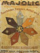 Glasurit, Werbeschild, 1910er/20er Jahre
