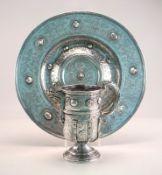 Aufwendiger Jarro de Pico im Renaissancestil, Spanien 18./19. Jhd., 900er Silber