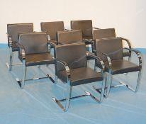 Weitere vier Armlehnsessel Bauhaus Design Stil