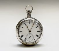 A pair cased silver pocket watch by Andrew Mckenzie, Turriff, the movement signed and numbered 33269