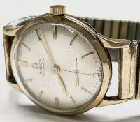 An Omega gentleman's 9ct gold cased automatic wristwatch, movement no. 11305201 diameter 32.