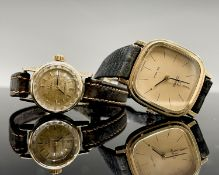 A Ladies 18ct gold automatic wristwatch no.20584449 with 661 cal. movement 16.3gm including
