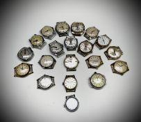 Twenty gentleman's mechanical wristwatches.