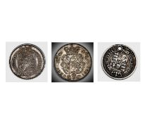 Great Britain Silver 6d George IV Comprising: a) 1821 bright toned UNC. b) 1824 dark toned AUNC.