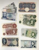 Bank of England and Scotland Bank Notes - All in good to uncirculated condition Small selection