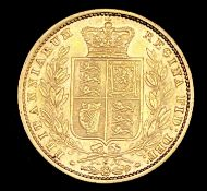 Great Britain Gold Sovereign 1877 Shield Bank. Sydney Mint. Condition: please request a condition