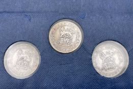 Great Britain Silver 6d King George V Pre 1920 - Better examples 1911 - 1919 (x17). 1911 (x2),