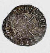 Henry VIII 1526-32, 2nd Coinage Half Groat, Canterbury - Archbishop Warham, WA beside shield, mm.