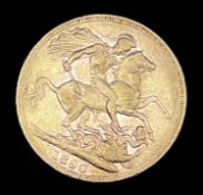 Great Britain Gold Sovereign 1890 Jubliee Head Condition: please request a condition report if you