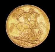 Great Britain Gold Sovereign 1884 George & Dragon Condition: please request a condition report if