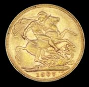 Great Britain Gold Sovereign 1907 Edward VII Condition: please request a condition report if you