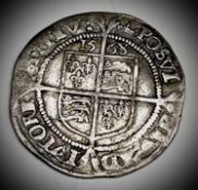 Elizabeth I, Sixpence 1568 F+ Nice detail Condition: please request a condition report if you