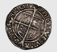 Henry VIII 1526-44 Second Coinage Groat, mm.lis, F+. Condition: please request a condition report if