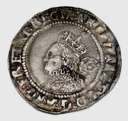 Elizabeth I, Sixpence, 1570 Good Grade Nice detail Condition: please request a condition report if