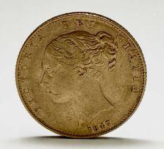 Great Britain Gold Sovereign 1847 Queen Victoria Shield Back Condition: please request a condition
