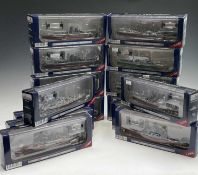 """Military - Second World War Naval Craft. 3 boxes containing 15 boxed """"Warship of WWII Collection"""""""