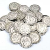 Great Britain King George V Halfcrowns 1911-19 (pre 1920 silver) (x41) A selection as follows: