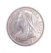 GB Halfcrowns - Victoria better grade. 3 x 1887 V/F-E/F and 1893 E/F. Condition: please request a
