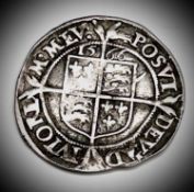 Elizabeth I, Sixpence 1566 F Condition: please request a condition report if you require