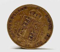 Great Britain Gold Half Sovereign1893 Queen Victoria Shield Jubliee head Condition: please request a