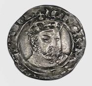 Henry VIII 1544-7 Third Coinage Groat, Bust 3, no mm, York, F. Condition: please request a condition