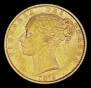 Great Britain Gold Sovereign 1875 Shield Back. Sydney Mint. Condition: please request a condition