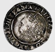 Elizabeth I, Sixpence, 1570 F Condition: please request a condition report if you require additional