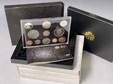 2005-2008 UK Royal Mint coin set all in boxes of issue. 4 in total. Condition: please request a