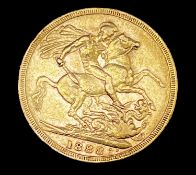 Great Britain Gold Sovereign 1888 Jubilee Head Condition: please request a condition report if you